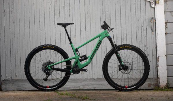 Велосипед 29″ Santa Cruz Megatower 1 C S»12G L Green RSV SDS+