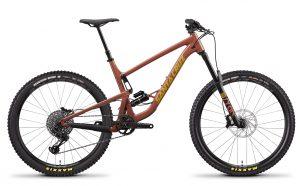 Велосипед 27,5″ Santa Cruz Bronson 3 CC XO1 27DI S F Red
