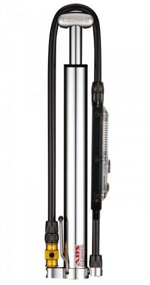 Микро напольный велонасос Lezyne Micro Floor Drive HPG, 160psi, серебристый Y13