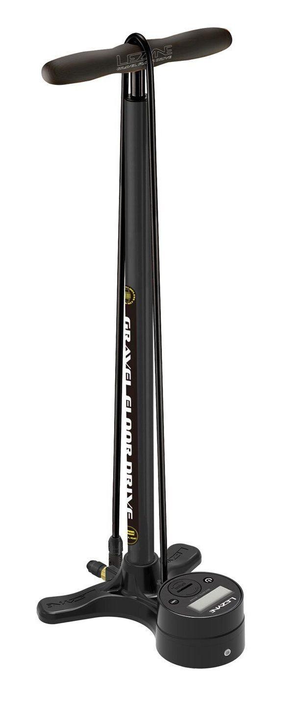 Насос напольный Lezyne Gravel Digital Drive, 100psi, черный матовый, Y14