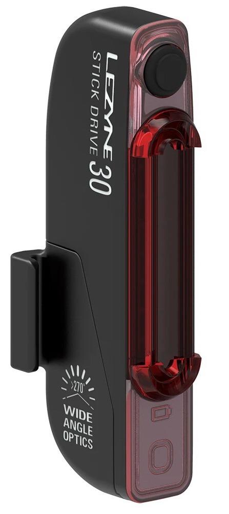 Задняя мигалка Lezyne Stick Drive, (30 lumen), черный Y14