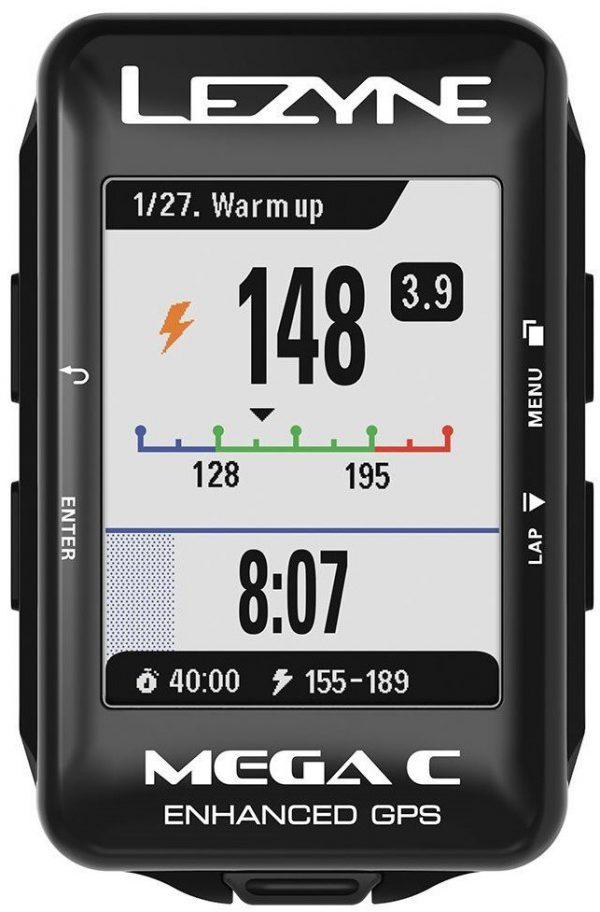 Велокомпьютер Lezyne Mega C GPS Smart Loaded , черный Y13