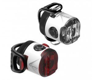 Комплект мигалок Lezyne Femto USB Drive Pair, (15/5 lumen), белый Y13