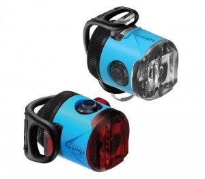 Комплект мигалок Lezyne Femto USB Drive Pair, (15/5 lumen), голубой Y13