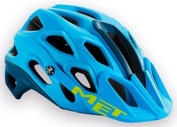 Шлем MET Lupo Cyan/Petrol Blue