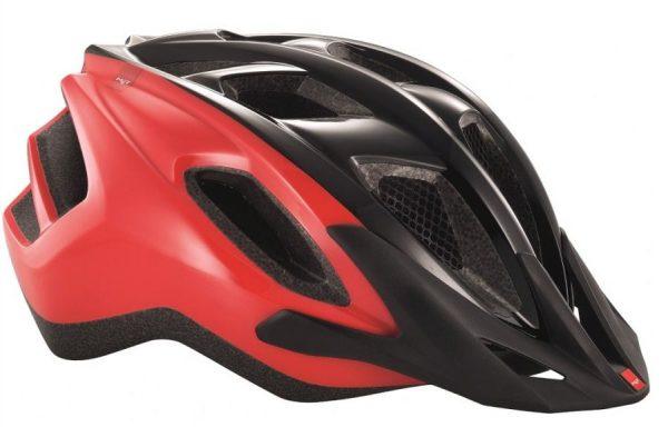 Шлем MET Funandgo Black/Red (panels)