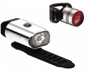 Комплект света Lezyne Mini Drive 400/Femto Drive Pair, (400/7 lumen), серебристый Y13