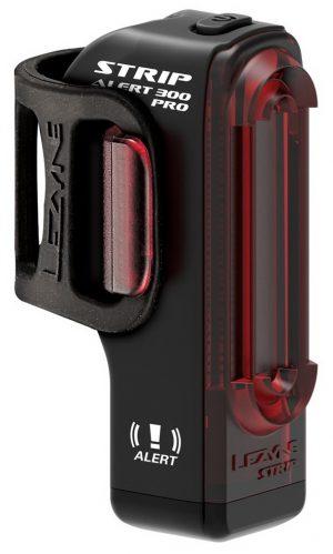 Задняя мигалка Lezyne Strip Pro Alert Drive Rear, (300 lumen), черный Y14