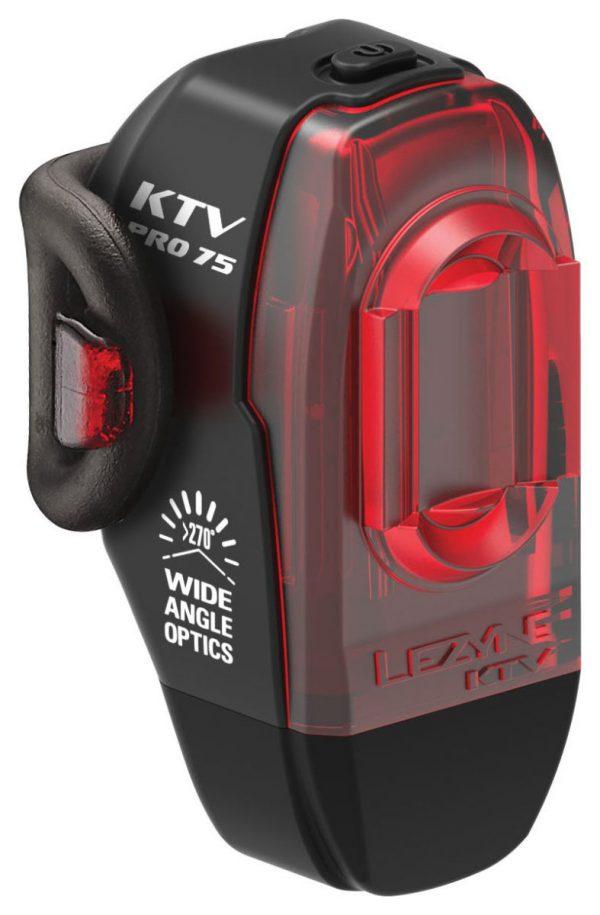 Задний свет Lezyne KTV Pro Drive Rear, (75 lumen), черный Y13