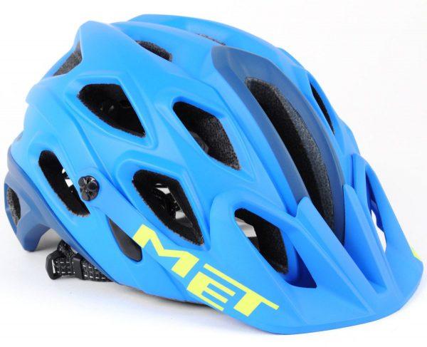 Шлем MET Lupo Cyan/Petrol Blue 54-58 см