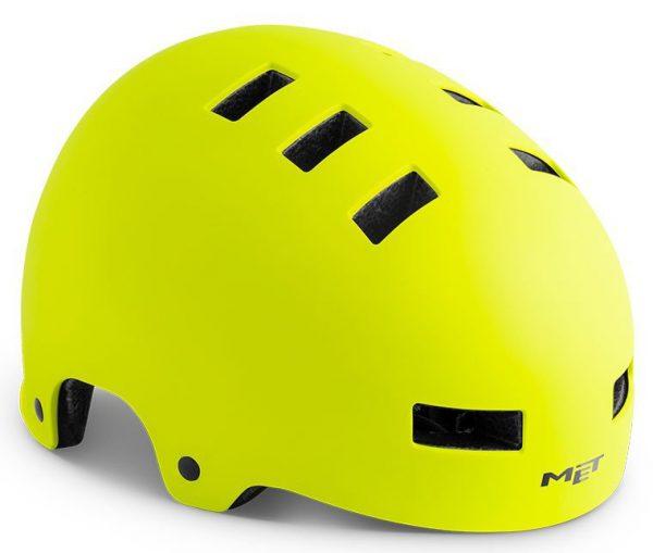 Шлем MET Zone Safety Yellow   Matt
