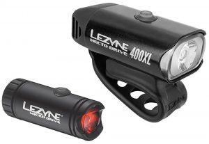 Комплект света Lezyne Micro Drive 400XL/Micro Drive Rear, (450/30 lumen), черный Y9