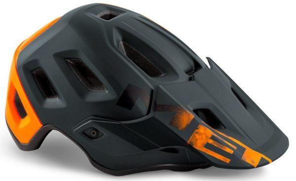Шлем MET Roam Black/Orange (матовый)