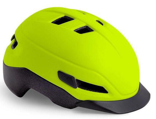 Шлем MET Grancorso Glossy Safety Yellow (глянцевый)