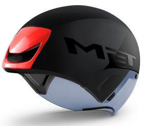 Шлем MET Codatronca Black Red | Matt Glossy