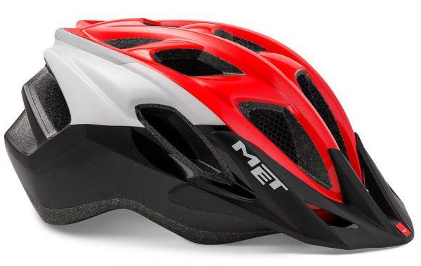 Шлем MET Funandgo White/Black/Red (глянцевый)