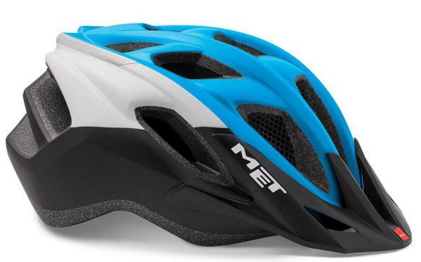 Шлем MET Funandgo Light Blue/Black (panels)