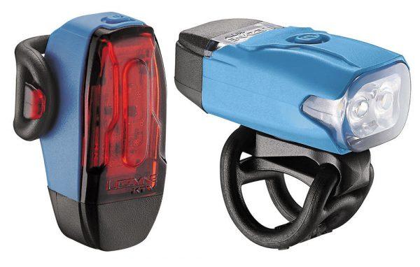 Комплект света Lezyne KTV Drive Pair, (70/7 lumen), голубой Y10