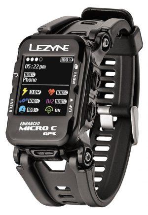 Часы-велокомпьютер Lezyne GPS Watch Color, черный Y12