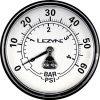 Насос напольный Lezyne Classic Over Drive, 60psi, черный Y10 8921