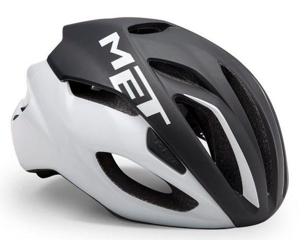 Шлем MET Rivale Black/White