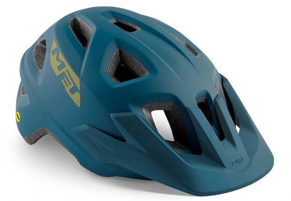 Шлем MET Echo MIPS Petrol Blue (матовый)