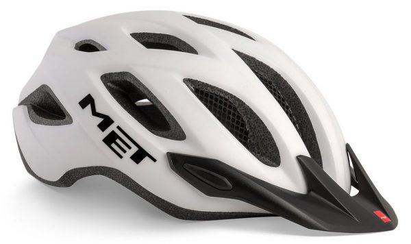 Шлем MET Crossover White (матовый)