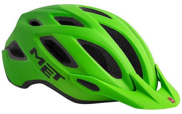 Шлем MET Crossover Green (матовый)