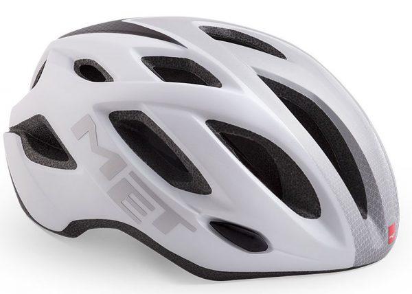 Шлем MET Idolo White/Silver Panels