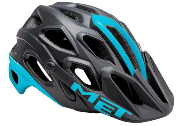 Шлем MET Lupo Black/Light Blue (матовый)