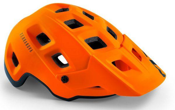 Шлем MET Terranova Orange/Black (матовый)