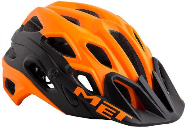 Шлем MET Lupo Orange/Black