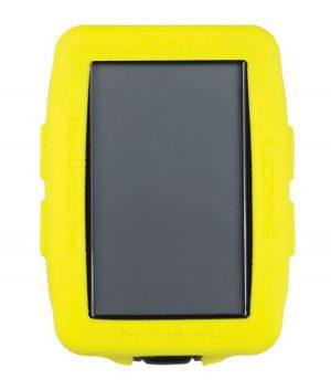 Чехол для велокомпьютера Lezyne Mega XL GPS Cover желтый
