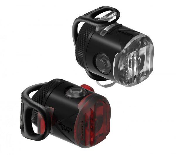 Комплект мигалок Lezyne Femto USB Drive Pair, (15/5 lumen), черный Y13