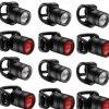 Набор заднего и переднего света Lezyne Femto Drive Box Set Pair, (7 lumen), черный Y10, 6+6 штук.
