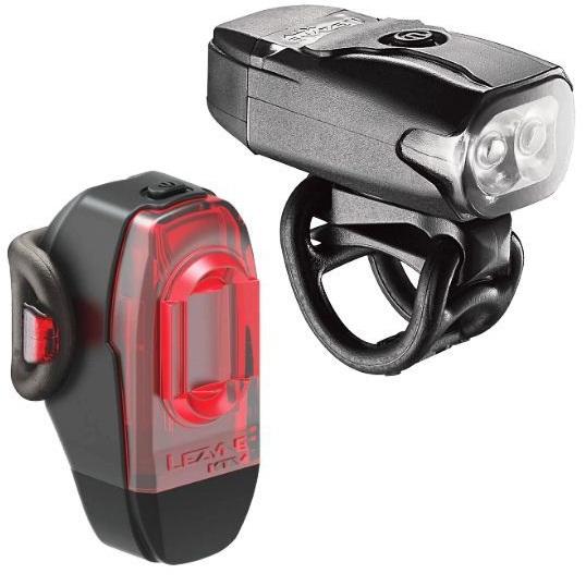 Комплект света Lezyne KTV Drive Pair, (200/10 lumen), черный Y12
