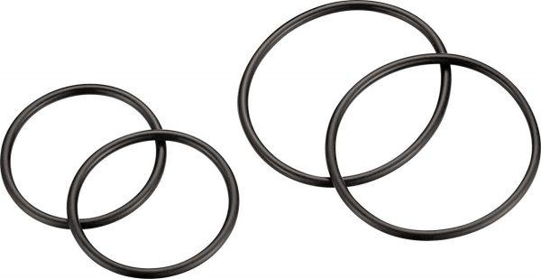 Крепление GPS Lezyne O-Ring Set черное, Y13