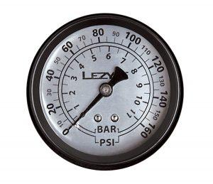Манометр Lezyne 160 PSI Gauge, черный Y14