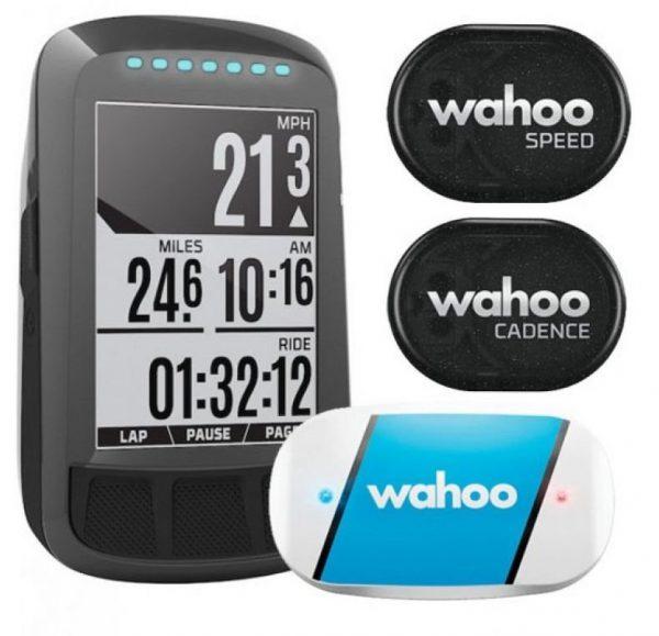 Велокомпьютер Wahoo Elemnt Bolt GPS Bundle (с датчиками)