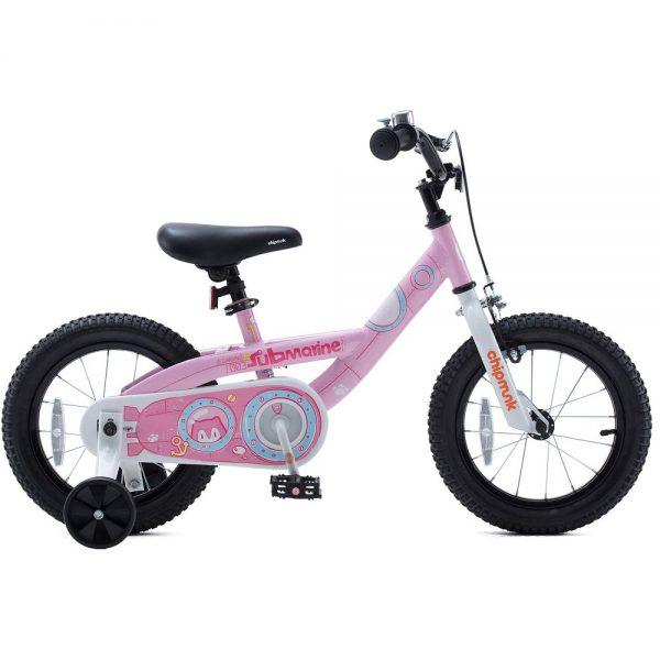 Велосипед детский RoyalBaby Chipmunk Submarine 18″ розовый