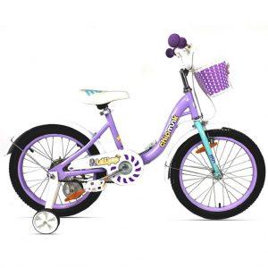 Велосипед RoyalBaby Chipmunk MM Girls 18″ Фиолетового цвета