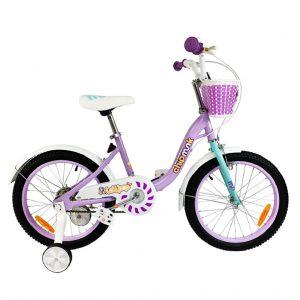Фиолетовый велосипед RoyalBaby Chipmunk MM Girls 16″