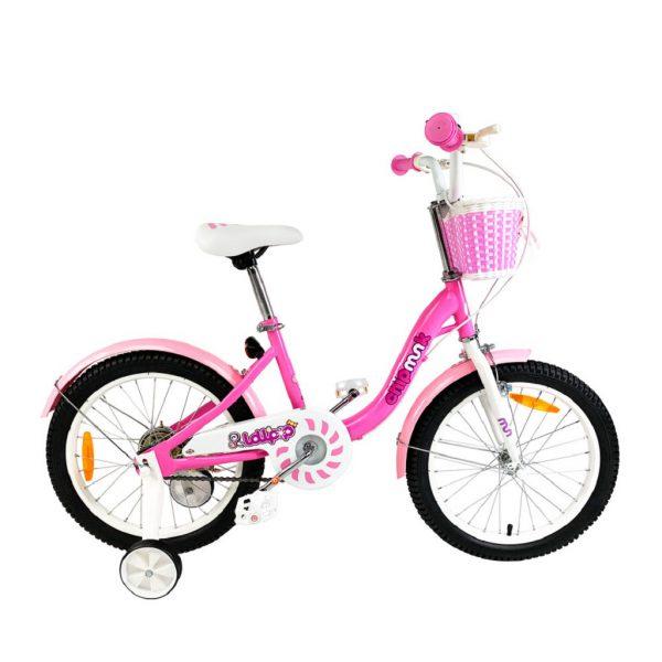 Велосипед RoyalBaby Chipmunk MM Girls 18″ Розовый