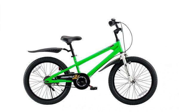 Велосипед RoyalBaby FREESTYLE 20″ зеленый