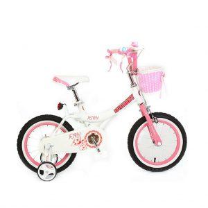 Велосипед RoyalBaby JENNY GIRLS 18″ белого цвета