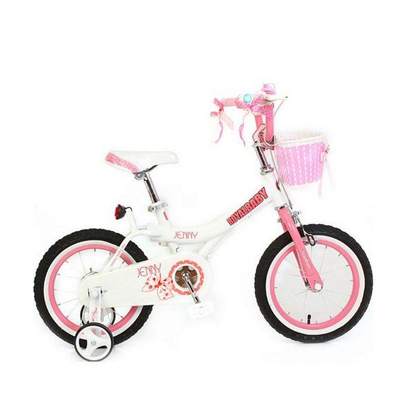Велосипед RoyalBaby JENNY GIRLS 16″ белого цвета