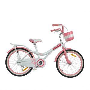 Велосипед RoyalBaby JENNY GIRLS 20″ белого цвета