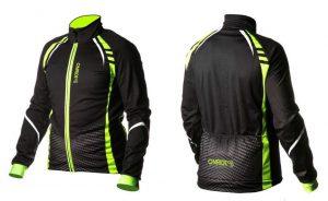 Велокуртка Onride Bark Black/Green