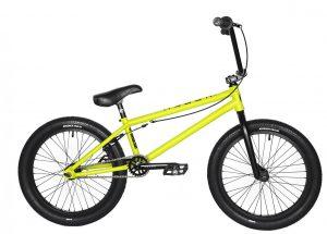Велосипед 20″ Kench Chr-Mo Yellow (мат)