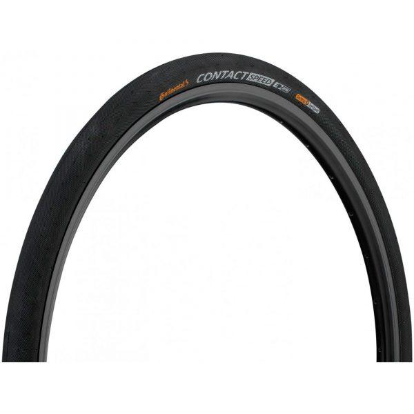 Покрышка Continental Contact Speed, 26 x 2.00, черная, не складная, skin
